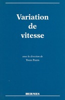 La variation de vitesse (tirage 06/97) De  PEERS - HERMES SCIENCE PUBLICATIONS / LAVOISIER