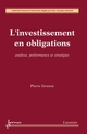 L''investissement en obligations De GRUSON Pierre - HERMES SCIENCE PUBLICATIONS / LAVOISIER