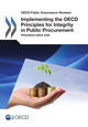 Implementing the OECD Principles for Integrity in Public Procurement De  Collective - OCDE / OECD