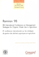 Ramiran 98. Proceedings of the 8th International Conference on Management Strategies for Organic Waste in Agriculture De José Martinez et Marie-Noëlle Maudet - Quæ