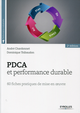 PDCA  et performance durable De Dominique Thibaudon et André Chardonnet - Editions Eyrolles