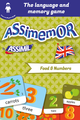 Assimemor – My First English Words: Food and Numbers De Jean-Sébastien Deheeger et  Céladon  - Assimil