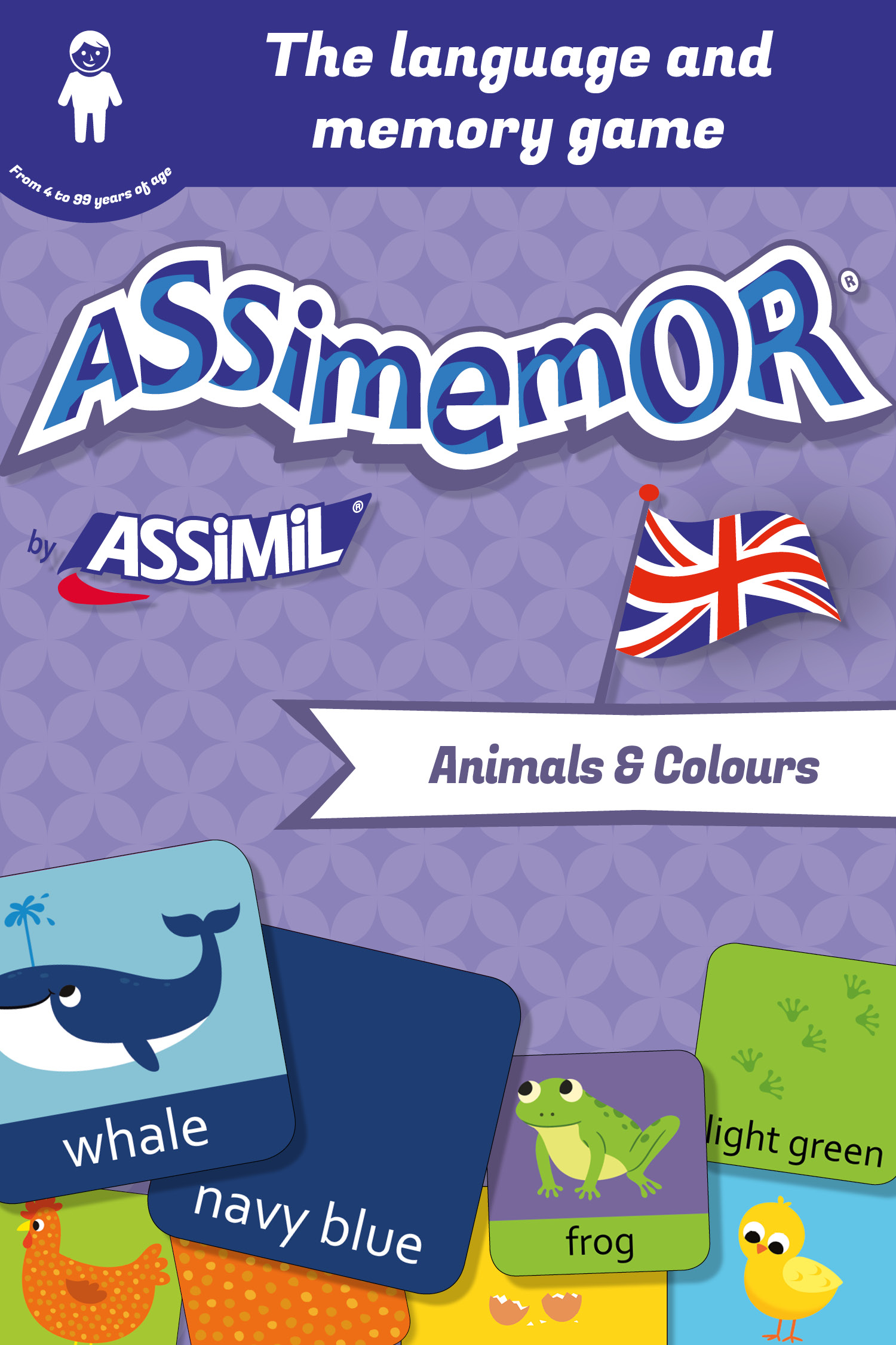 Assimemor – My First English Words: Animals and Colours De Jean-Sébastien Deheeger et  Céladon  - Assimil