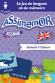 Assimemor – Mes premiers mots anglais : Animals and Colours De Jean-Sébastien Deheeger et  Céladon  - Assimil