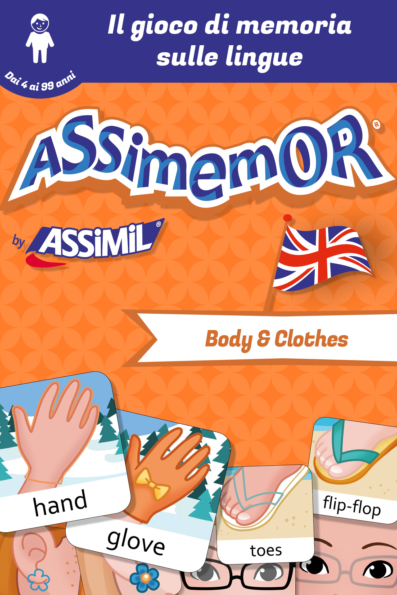 Assimemor - Le mie prime parole in inglese: Body and Clothes De Léa Fabre et  Céladon  - Assimil