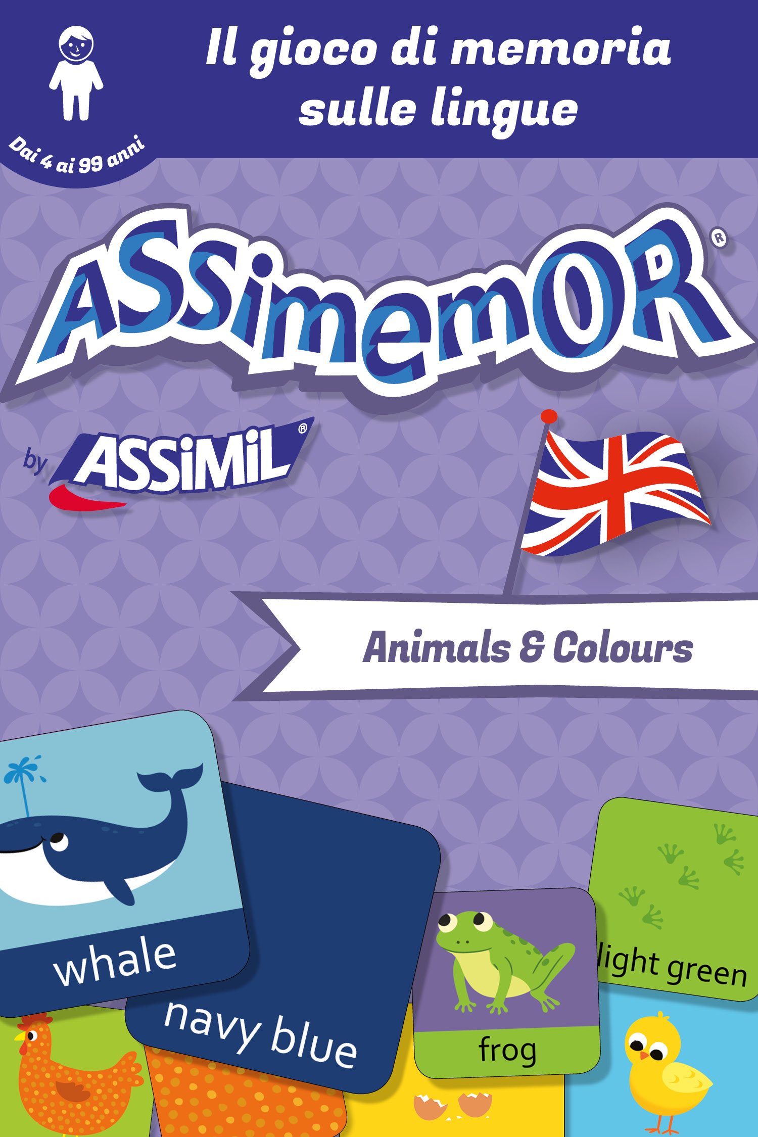 Assimemor - Le mie prime parole in inglese: Animals and Colours De  Céladon  et Jean-Sébastien Deheeger - Assimil