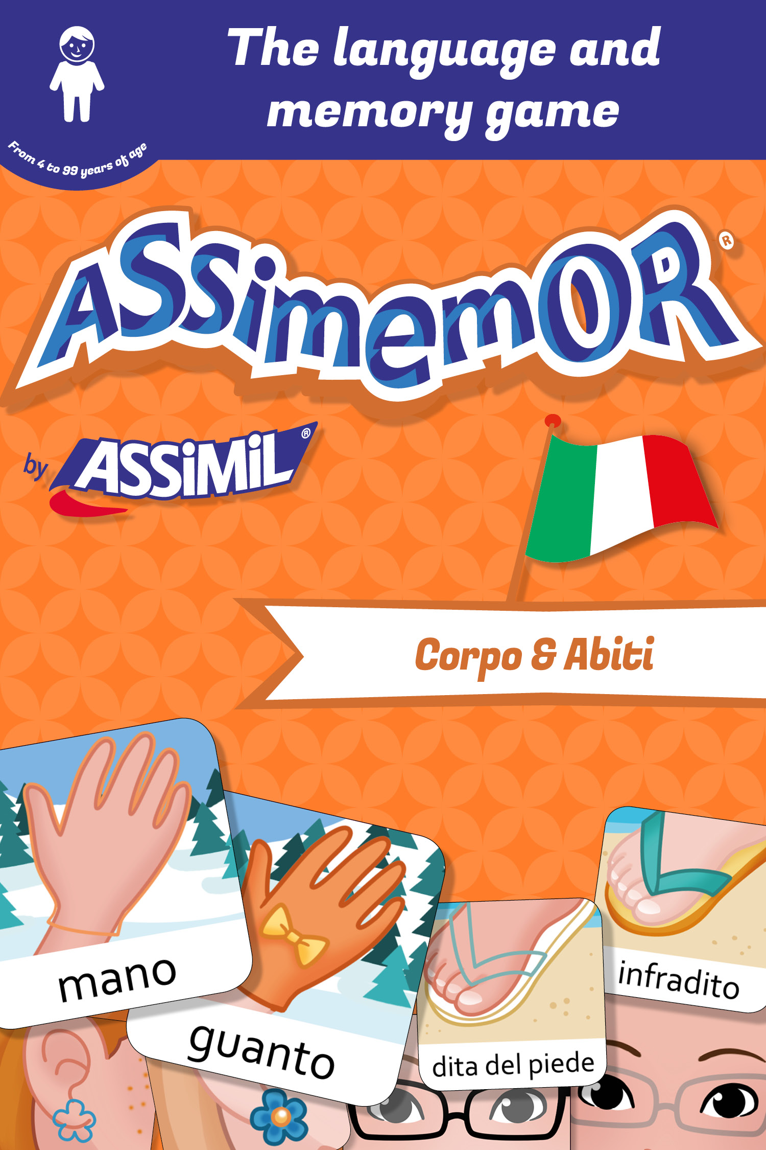 Assimemor – My First Italian Words: Corpo e Abiti De Léa Fabre et  Céladon  - Assimil