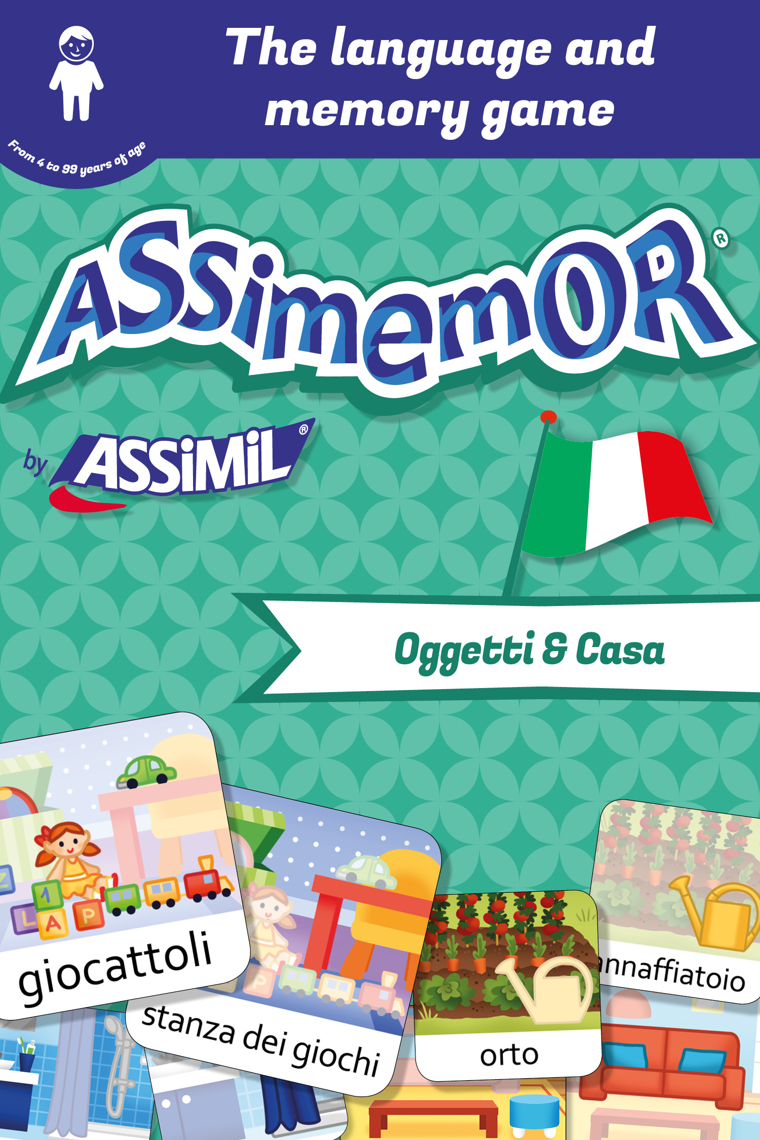Assimemor – My First Italian Words: Oggetti e Casa De  Céladon  et Léa Fabre - Assimil