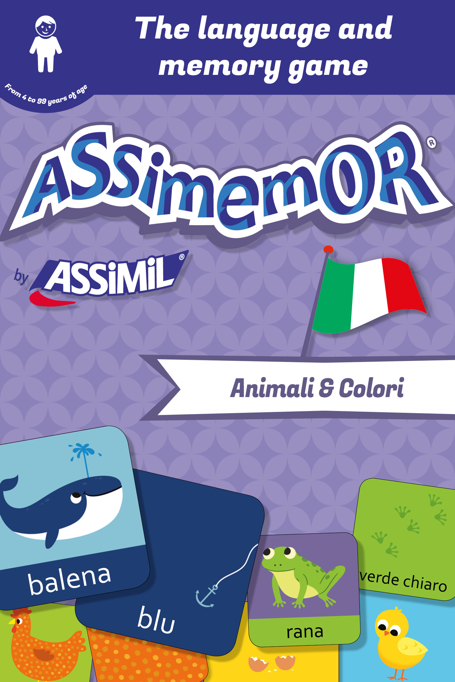 Assimemor – My First Italian Words: Animali e Colori De  Céladon  et Jean-Sébastien Deheeger - Assimil
