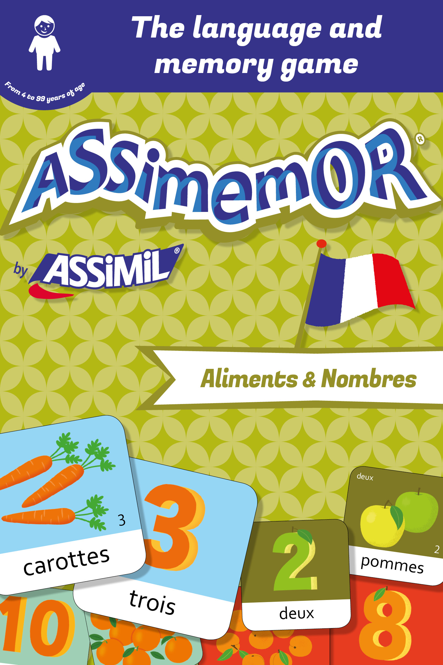 Assimemor – My First French Words: Aliments et Nombres De  Céladon  et Jean-Sébastien Deheeger - Assimil
