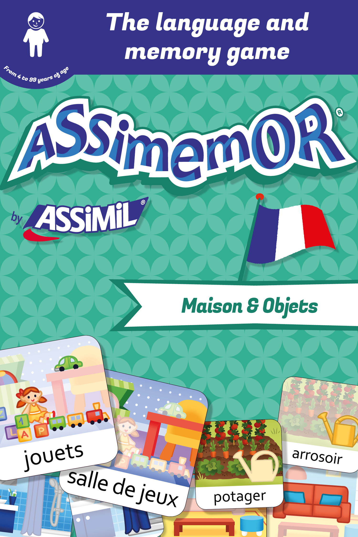 Assimemor – My First French Words: Maison et Objets De  Céladon  et Léa Fabre - Assimil