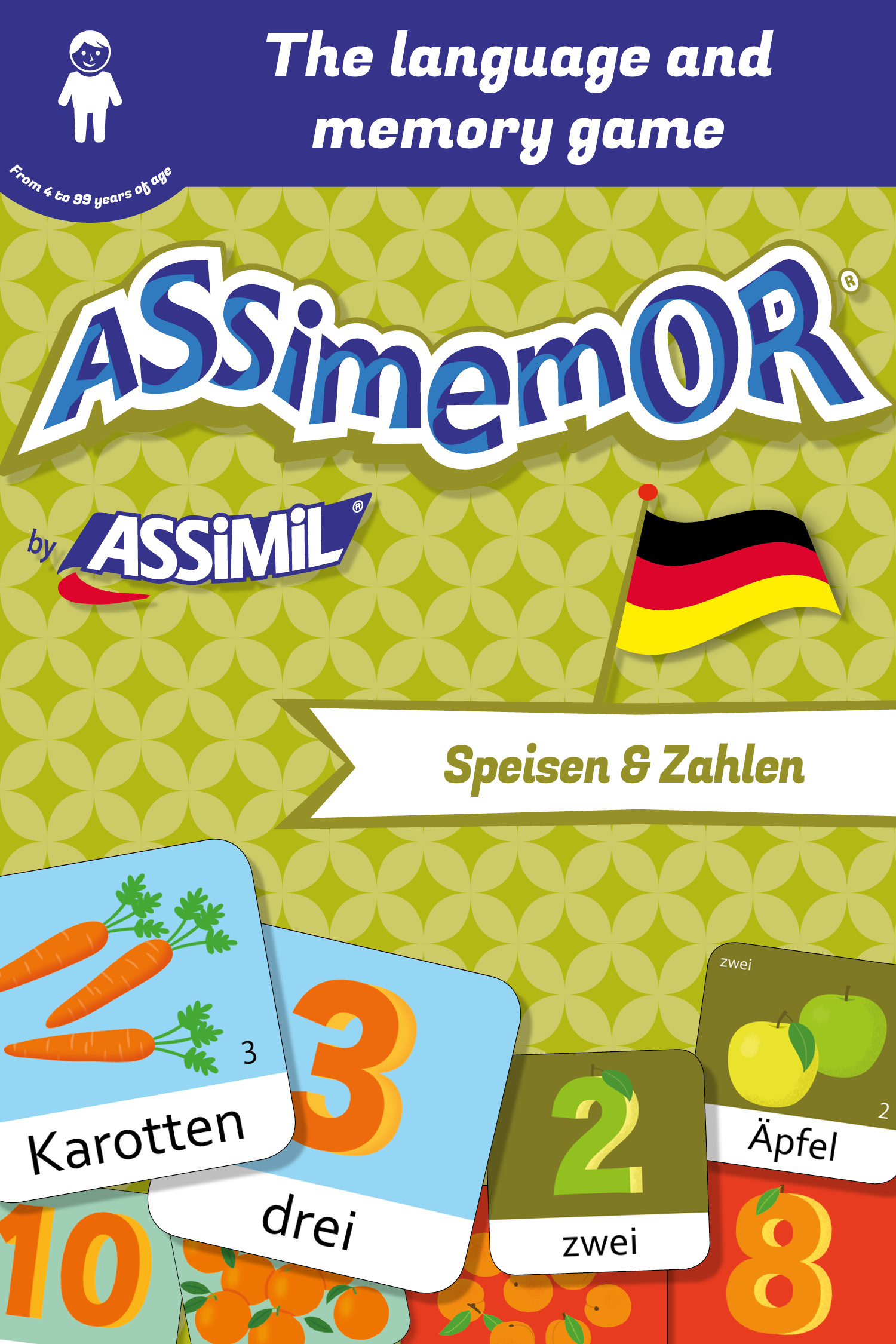 Assimemor – My First German Words: Speisen und Zahlen De Jean-Sébastien Deheeger et  Céladon  - Assimil