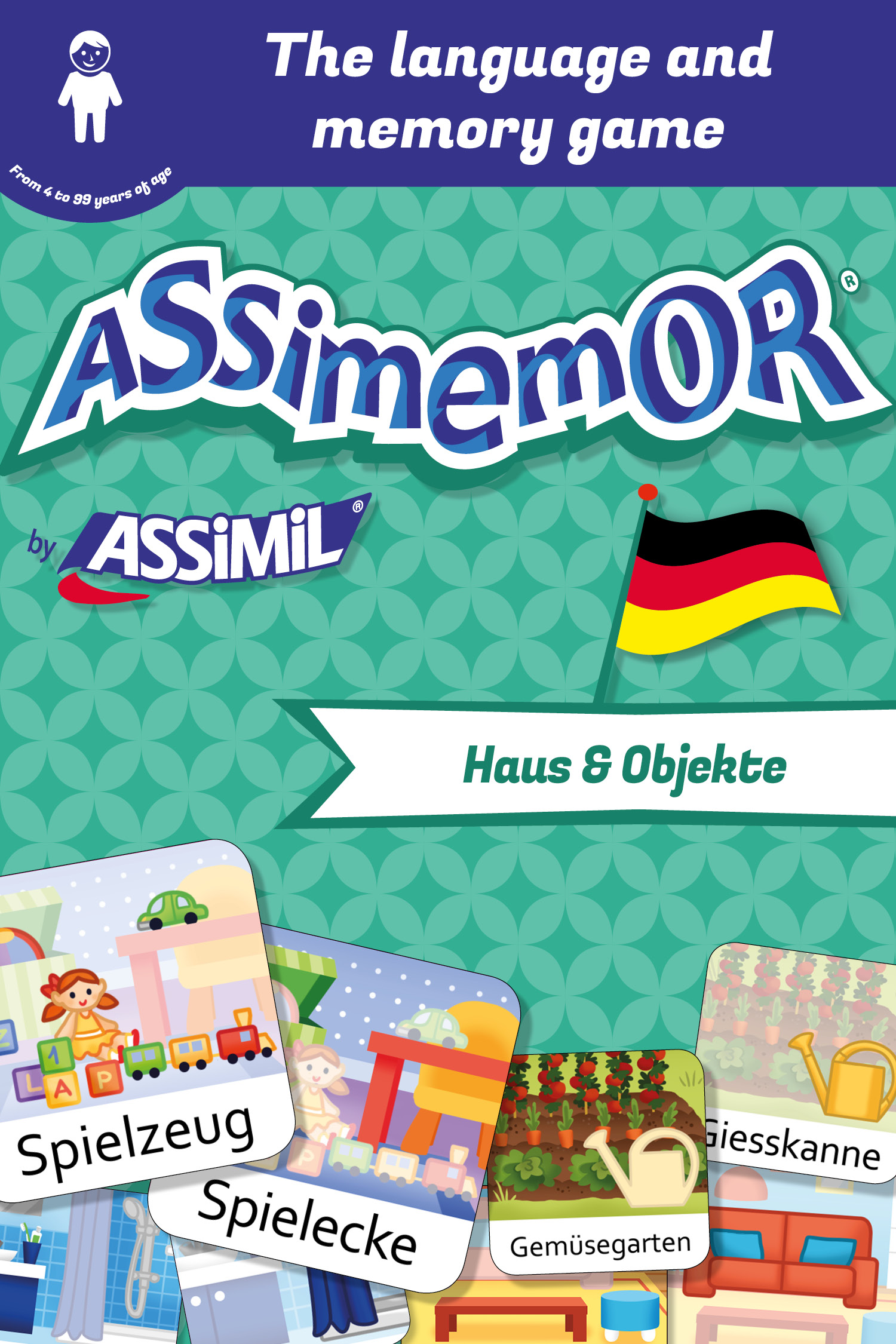Assimemor – My First German Words: Haus und Objekte De Léa Fabre et  Céladon  - Assimil