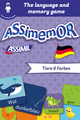 Assimemor – My First German Words: Tiere und Farben De Jean-Sébastien Deheeger et  Céladon  - Assimil