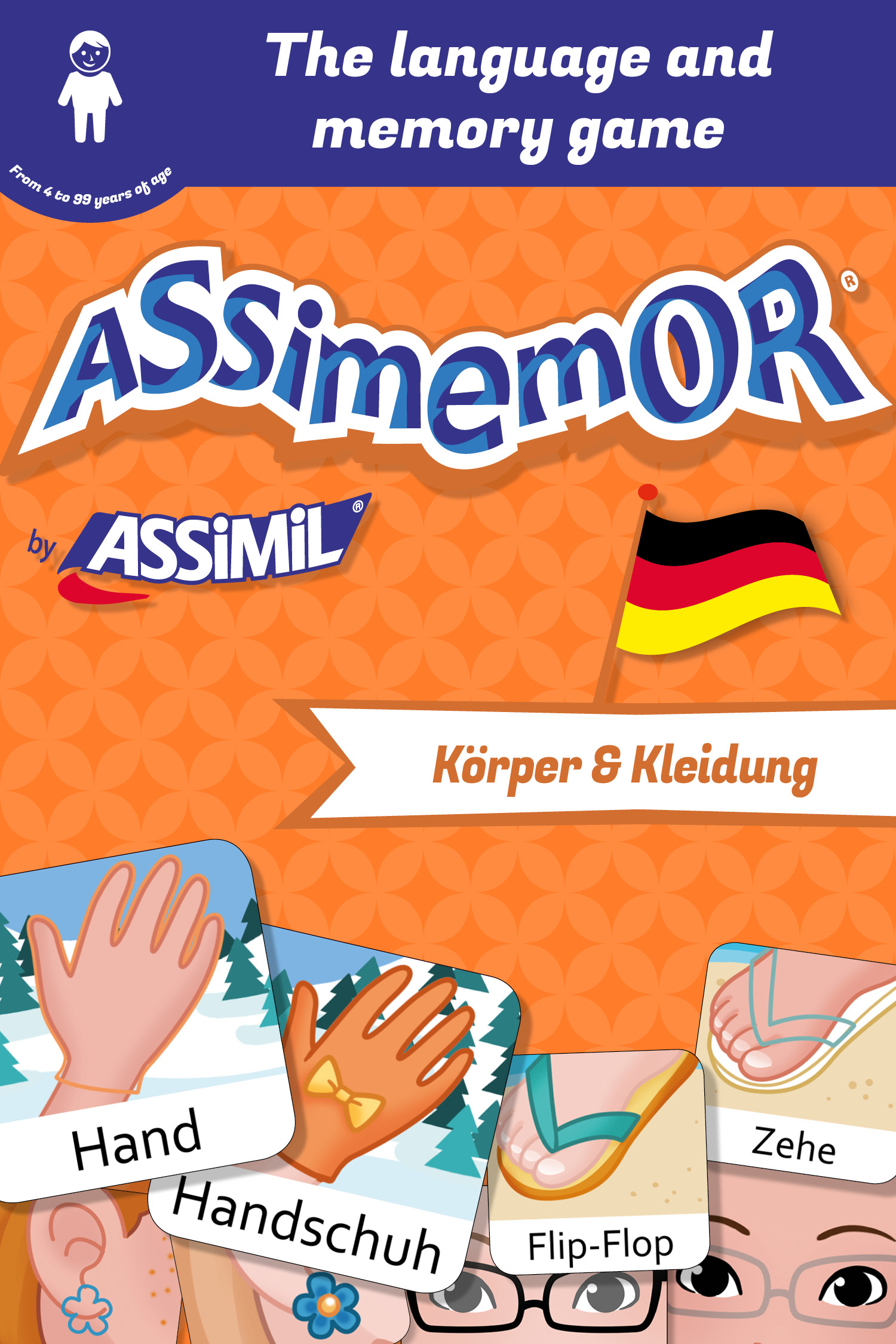 Assimemor – My First German Words: Körper und Kleidung De Léa Fabre et  Céladon  - Assimil