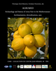 AGRUMED: Archaeology and history of citrus fruit in the Mediterranean  - Publications du Centre Jean Bérard