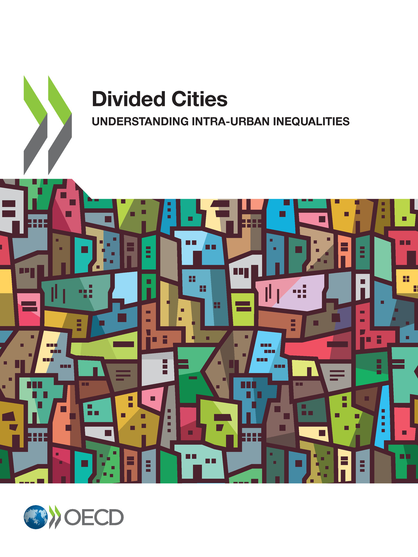 Divided Cities De  Collectif - OCDE / OECD