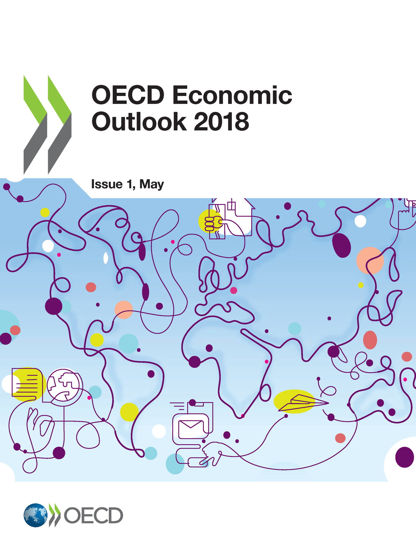 OECD Economic Outlook, Volume 2018 Issue 1 De  Collectif - OCDE / OECD