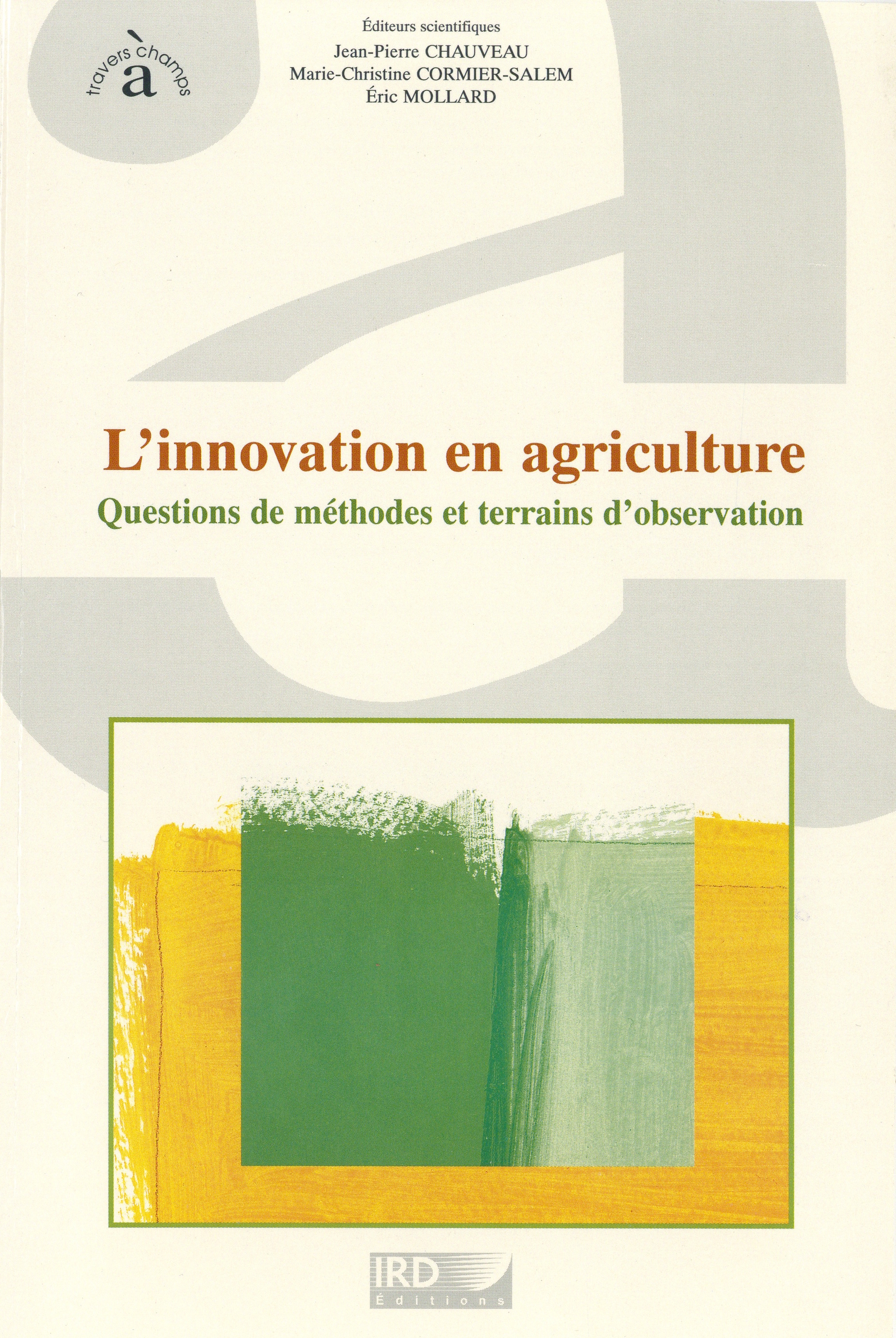 L'innovation en agriculture  - IRD Éditions