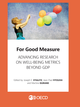 For Good Measure De Joseph E. Stiglitz, Jean-Paul Fitoussi et Martine Durand - OCDE / OECD
