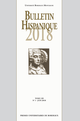 Bulletin Hispanique - Tome 120 - N°1 - Juin 2018  - Presses universitaires de Bordeaux