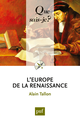 L'Europe de la Renaissance De Alain Tallon - Presses Universitaires de France