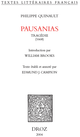 Pausanias : tragédie, 1668 De Philippe Quinault, Edmund J. Campion et William S. Brooks - Librairie Droz