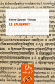 Le sanskrit De Pierre-Sylvain Filliozat - Presses Universitaires de France