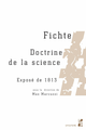 Fichte. Doctrine de la science  - Presses universitaires de Provence