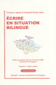 Écrire en situation bilingue - Volume II  - Presses universitaires de Perpignan